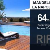 Mandelieu la Napoule, Apartamento 3 assoalhadas, 64 m2