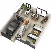 Maison 5 pièces + Terrain Negrepelisse