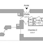 Vitré, Apartamento 3 assoalhadas, 55,58 m2