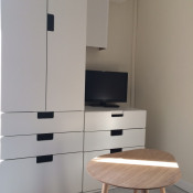 Nantes, Маленькая однокомнатная квартира 1 комнаты, 15 m2