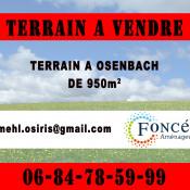Terrain 955 m² Osenbach (68570)