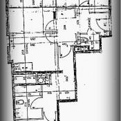 Paris 20ème, Appartement 3 pièces, 65 m2