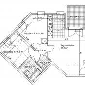 Bagnolet, 公寓 3 间数, 64 m2