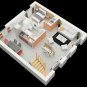 Maison 4 pièces + Terrain Anetz