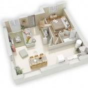 1 Bourg-des-Comptes 90 m²