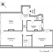 location Appartement 3 pièces Paris 10ème