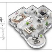 Vente de prestige appartement Lyon 2ème 923000€ - Photo 1