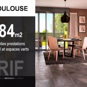 Toulouse, Villa 4 Zimmer, 84 m2