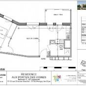 Perrigny lès Dijon, Appartement 2 pièces, 46,62 m2