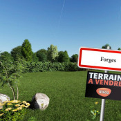 Terrain 1014 m² Forges (17290)