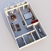 Saint Hilaire de Riez, квартирa 2 комнаты, 35 m2