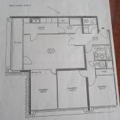 Paris 13ème, Apartamento 4 habitaciones, 86 m2