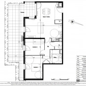 Vénissieux, Apartamento 3 assoalhadas, 70 m2