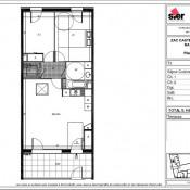 Sathonay Camp, Appartement 3 pièces, 63 m2