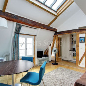 Paris 1er, Apartment 4 rooms, 90 m2