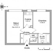 location Appartement 2 pièces Bourg la Reine