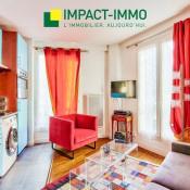Paris 18ème, Appartement 2 pièces, 34 m2
