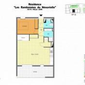 Lannemezan, Wohnung 2 Zimmer, 47 m2