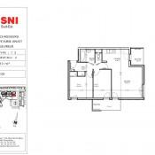 location Appartement 3 pièces Cran-Gevrier