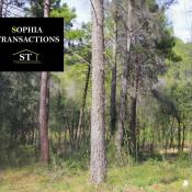 Terrain 3200 m² Roquefort-les-Pins (06330)