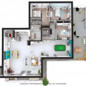Albertville, Wohnung 4 Zimmer, 135,28 m2