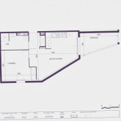 Béziers, Apartment 2 rooms, 39 m2