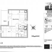 Caluire et Cuire, Appartement 2 pièces, 37 m2