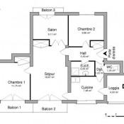 location Appartement 4 pièces Valence