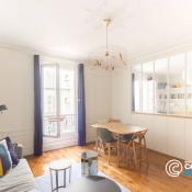 Paris 17ème, Appartement 3 pièces, 58 m2