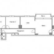 Vanves, Apartamento 3 assoalhadas, 59,42 m2