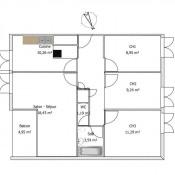 vente Appartement 4 pièces Bayonne