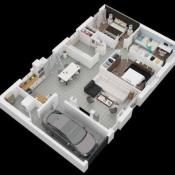 Maison 4 pièces + Terrain Saint-Flavy