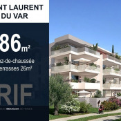 Saint Laurent du Var, Appartement 4 pièces, 86 m2