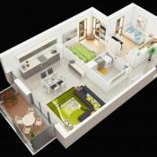 vente Appartement 4 pièces Neuville-sur-Saône
