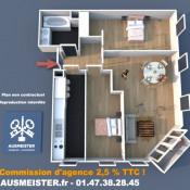 Courbevoie, квартирa 4 комнаты, 77 m2
