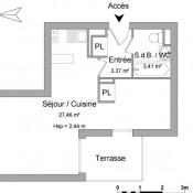 location Appartement 1 pièce Onet le Chateau