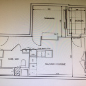 Villeurbanne, Appartement 2 pièces, 38 m2