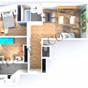 Boulogne Billancourt, Apartamento 3 assoalhadas, 64,8 m2