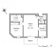 Eaubonne, квартирa 2 комнаты, 42,83 m2