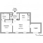 Vauréal, Appartement 2 pièces,