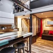 Paris 18ème, Loft 2 pièces, 46 m2