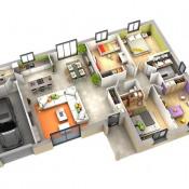 Maison 4 pièces + Terrain Lasseube Propre
