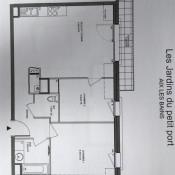 Aix les Bains, Apartment 3 rooms, 60 m2