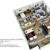 vente Appartement 4 pièces Bruz