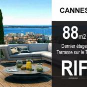 Cannes, Appartement 4 pièces, 88 m2