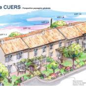 Terrain 171 m² Cuers (83390)