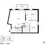 Igny, Apartamento 3 assoalhadas, 60 m2