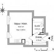 location Appartement 1 pièce La Plaine Saint Denis
