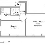 Brest, Apartamento 2 assoalhadas, 47,05 m2