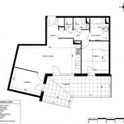 Sainte Foy lès Lyon, Appartement 3 pièces, 62 m2